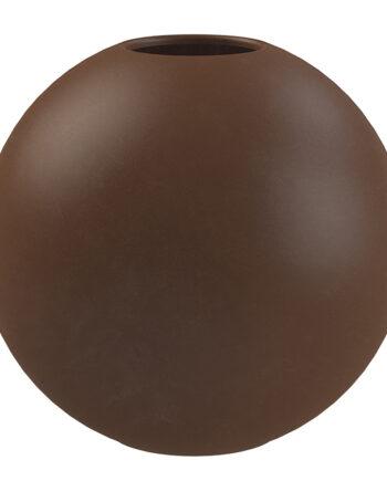 Ball Vas 20 cm Coffee