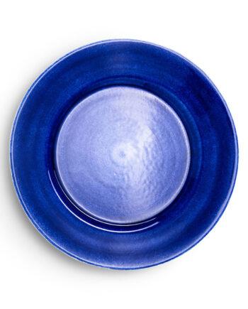 Basic Tallrik 25 cm, Blå