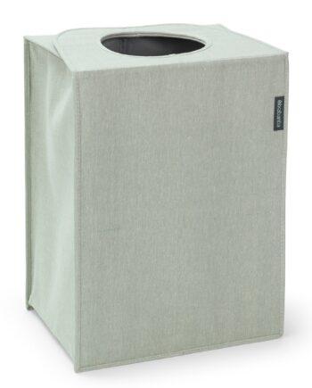 Brabantia tvättkorg tyg rektangulär 55 liter Grön