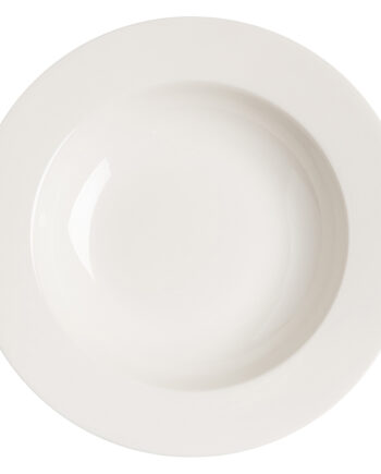 Kalk djup tallrik 23 cm vit