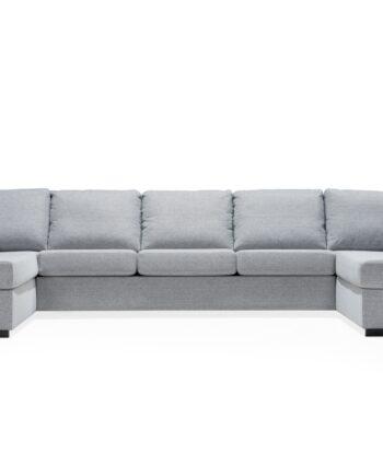 LINDÖ U-soffa XXL Ljusgrå