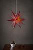 MAYA julstjärna ø 60 cm Vinröd