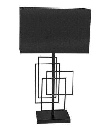Paragon bordslampa 69 cm Matt svart-svart