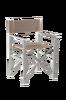 MARCELLA däckstol/regissörstol Gråbrun