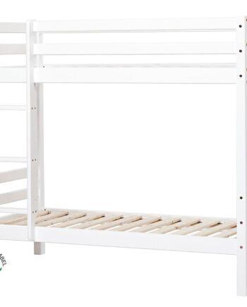 BASIC Våningssäng 90x200 Ej delbar Vit, Våningssängar