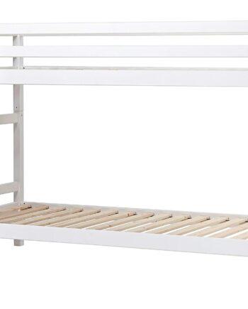 BASIC Våningssäng 90x200 Vit, Våningssängar