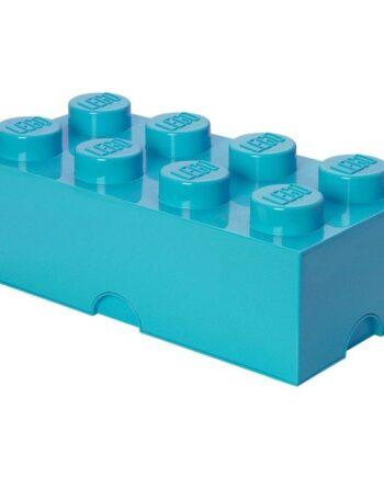 LEGO Förvaringslåda 8 (Turkos)