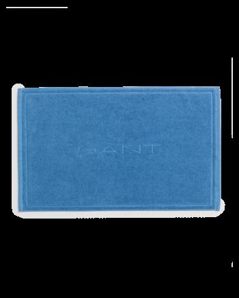 Organic Badrumsmatta 50x80 cm, Bright Cobalt