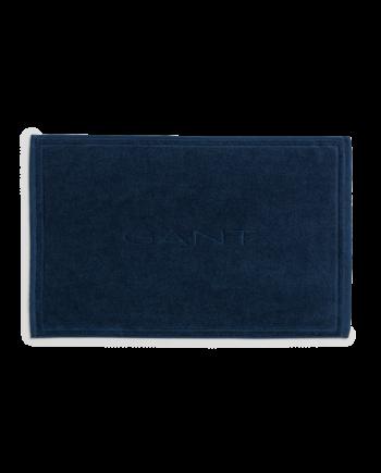 Organic Badrumsmatta 50x80 cm, Yankee Blue
