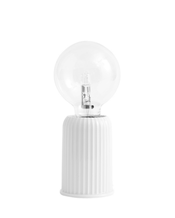 Fitting #03 Bordslampa Vit 10,7 cm