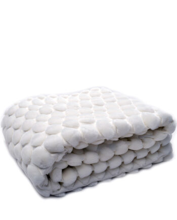 Pläd Egg Shell, 170x130 cm