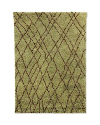 Olive Ullmatta Brown zigzag 180x280 cm