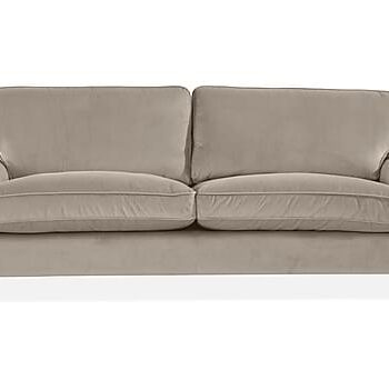 HOWARD LUX 3-sits Soffa Silver, 3-sits soffor