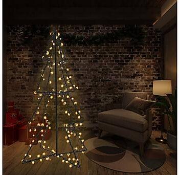 Ljuskon för julgran 240 LED inne/ute 115x150 cm, Julpynt & juldekoration