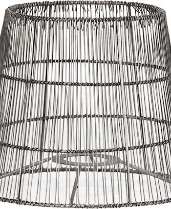 Mia Nordic Lampskärm Antiksilver 21cm