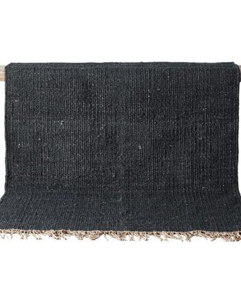 Hemp matta svart 200x300 cm