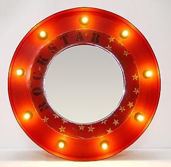 OSYTH Spegel Röd, Speglar