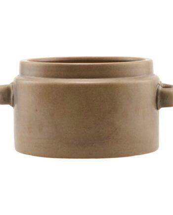 Bundi kruka brun Ø26 cm