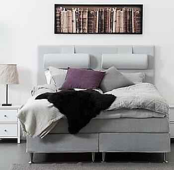 FELICIA Sänggavel 160 cm Ljusgrå, Sänggavlar
