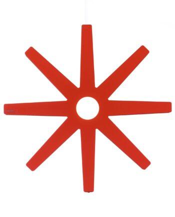 Fling röd lampa Ø 50 cm