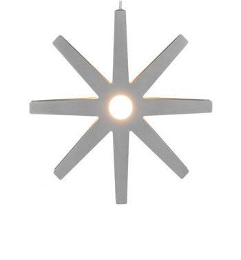 Fling silver lampa Ø 33 cm