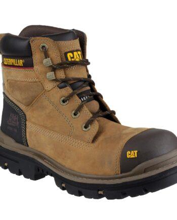 Gravel 6 Inch Dark Beige Safety Boots