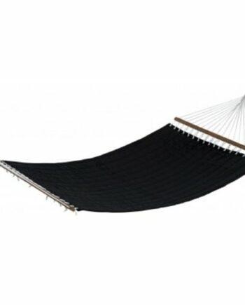 Hängmatta 140x200 cm, svart