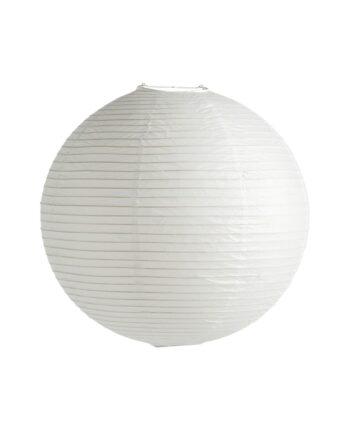 Rice paper lampskärm Ø50 cm Vit