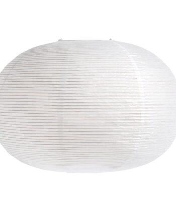 Rice paper lampskärm ellipse Vit