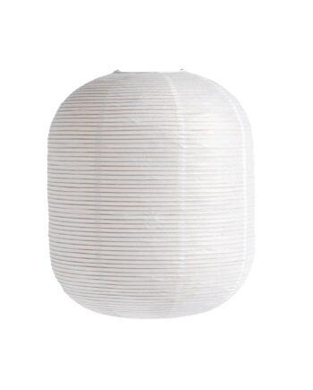 Rice paper lampskärm oblong Vit