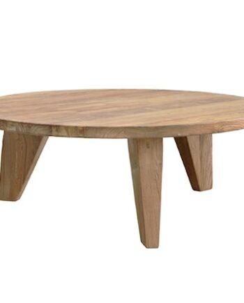 Soffbord Återvunnet trä 80x80x30 cm