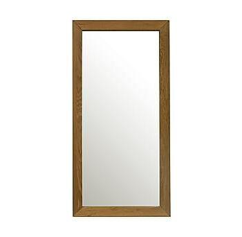 Spegel MONDEO 80x40cm ram: ek, Speglar