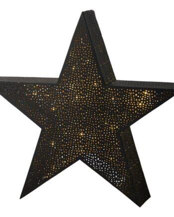 Tindra bordsstjärna stor Svart