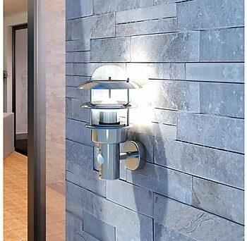 Vägglampa Restego Rörelsedetektor, Utomhusbelysning