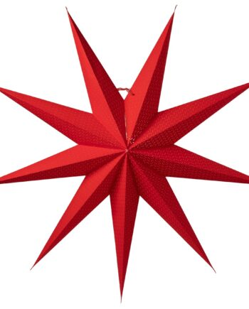 Aino julstjärna slim röd 100 cm