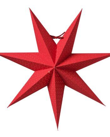 Aino julstjärna slim röd 44 cm