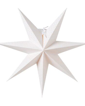 Aino slim julstjärna vit 44 cm
