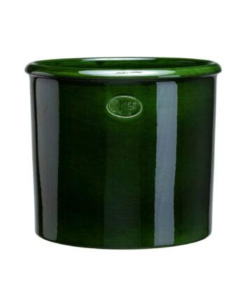 Bergs: Modena Glazed Emerald Green, 30 cm, Kruka, 30 CM