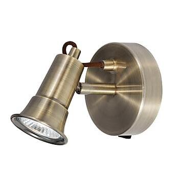 EROS Spotlight 1L Mässing, Lampor