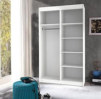 WAGES Garderob 120x60x216 cm, Garderober